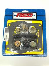 AED 4165 Holley Spreadbore Double Pumper Carburetor Rebuild kit 650-800 -NEW