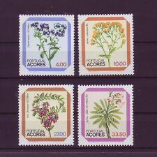 Portugal-Azoren 1982 postfrisch  MiNr,  349-352  Blumen