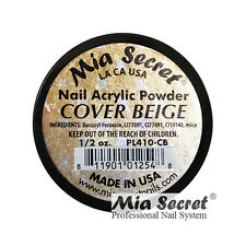 Mia Secret Acrylic Powder Cover 0.5 1 oz Pink Beige Rose for Nail Bed USA MADE