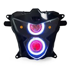 Angel Eye HID Projector Custom Headlight Assembly for Suzuki GSXR750 2004-2005