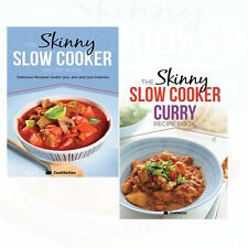 Skinny Slow Cooker Curry Recipe 2 Books Collection Set Skinny Slow Cooker Recipe