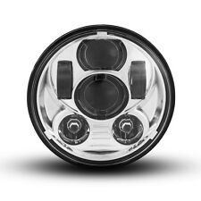 "5.75"" Chrome Projector LED Headlight Insert for Harley Davidson Sportster Models"