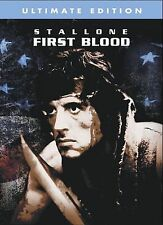 BRAND NEW First Blood (DVD, 2004,Ultimate Edition Canada English french) SEALED