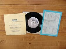 "7"" 45 EP ARCHIVE PRODUCTION EPA 37020 Bach ""Der Friede Sie BWV 158"" Glückselig"