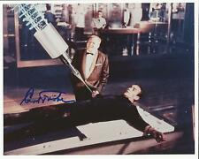 Hand Signed 8x10 photo GERT FROBE as GOLDFINGER - JAMES BOND + COA VERY RARE !!