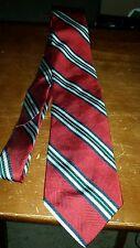 Christian Dior Silk Neck Tie striped pattern multi colored