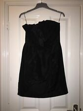 Oasis little Black Dress Size 12 christmas party Formal Wedding