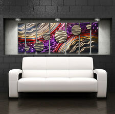 Large Metal Wall Art Panels Modern Contemporary Abstract Home Decor Painting