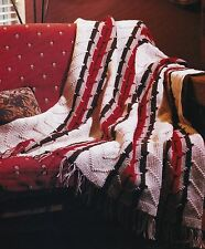 LOVELY Cheyenne Chevron Afghan/Crochet Pattern INSTRUCTIONS ONLY