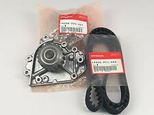 New Genuine Honda CR-V Acura Integra GS/LS/RS DOHC Water Pump Timing Belt Kit