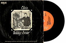 "ELVIS PRESLEY - TEDDY BEAR - RARE OZ ONLY KOALA BEAR PIC EP 7"" 45 RECORD PIC SLV"