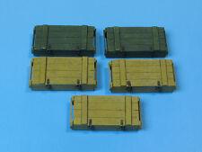 Wooden Ammo Boxes for 7.5 cm Kw.K.40/Stu.K.40 L/43 and L/48, E003, Eureka XXL