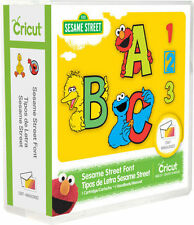 Cricut Sesame Street Font Cartridge Use w/ Cricut All Machines