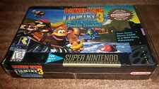 DONKEY KONG COUNTRY 3 DIXIE DOUBLE TROUBLE GAME SUPER NINTENDO SNES NEW SEALED!