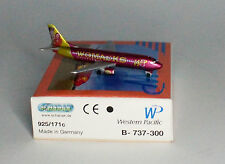 "Schabak Boeing 737-301 WP Western Pacific ""Womacks"" no stand 1:600"