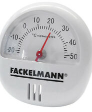 THERMOMETER  MAGNETIC OR FREESTANDING WHITE PLASTIC  IDEAL FOR ALL AREAS OF HOME