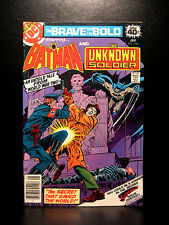 COMICS: DC: Brave and the Bold #146 (1979), Batman/Unknown Soldier -RARE