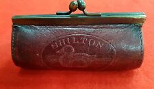 VINTAGE LEATHER COIN PURSE SHILTON OUT DOOR GOODS