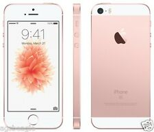 "Apple Iphone SE 16gb 4"" Rose Gold Factory Unlock Mobile 2016 New Cod Agsbeagle"