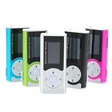 Portable Mini Digital MP3 Music Player LCD Display LED Torch TF/MicroSD Slot