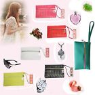 Hot Women Girl's Card Coin Holder Phone Case PU Leather Wallet Clutch Purse Bag