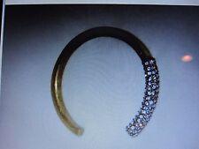 New Avon Mark    I'm Hooked Bracelet  ~  Burnished Brass  ~LARGE