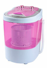 DMR 30-1208 Portable Single Tub Mini Washing Machine with dryer basket- Pink