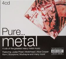 PURE...METAL - PARENTAL ADVISORY - 4 CD's - 2014 - SONY MUSIC.
