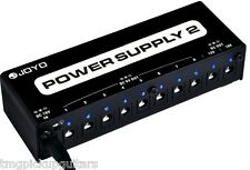 Joyo Technology jp02 fuente de alimentación multi Power Supply, 8x9v,18 & 12v efecto dispositivo pedal