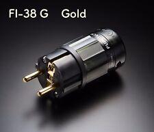 Furutech FI-E38G FI-E38 G Schukostecker Schutzkontaktstecker Netzstecker Gold