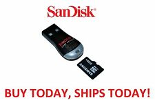 SANDISK NEW Micro SD to USB Memory Card Adapter Reader Dongle Thumb Drive Pen