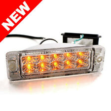 VW GOLF JETTA MK1 MK2 EURO-SPEC SMALL BUMPER LED TURN SIGNAL LIGHTS - CLEAR