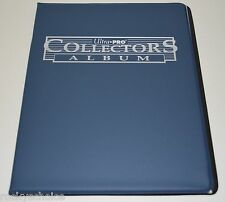 9 Pocket Sport Game Card Collector album Ultra Pro New Navy Blue sports Supplies