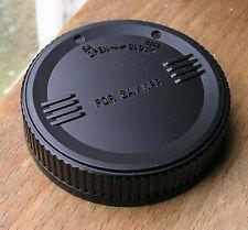 rear lens cap for Sigma SA SLR lenses used