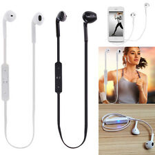 Wireless Bluetooth Stereo Headset Headphone Earphone For iPhone 7 Plus Samsung