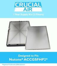 Broan Nutone 1 Year Supply Filter Kit: 2 Pre Filters & 1 HEPA Filter ACCGSFHP2