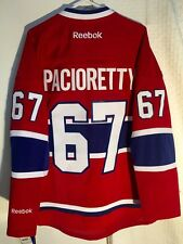 Reebok Premier NHL Jersey Canadiens Max Pacioretty Red sz L