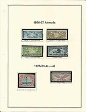 C-7 - C12 THE NEXT 6 OF THE AIR MAILS MNH POF