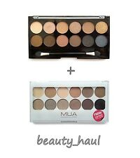MUA UNDRESSED & UNDRESS ME TOO 12 Eyeshadow Palettes *Naked Dupe* / 2 Palettes