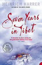 Seven Years in Tibet by Heinrich Harrer (Paperback, 1988) New Book