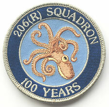 RAF No.206 (R) Squadron 100th Anniversary Royal Air Force Embroidered Patch
