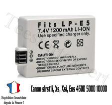 Batterie pour CANON LP-E5 LPE5 Eos 450D 500D 1000D Rebel T1i Xs - 1200mah LP-E5