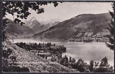 AK Zell am See Panorama 1961, gegen Kitzsteinhorn 3204m in Pinzgau Salzburg, gel