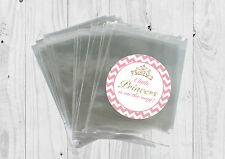 12 x Little Princess, Baby Girl, Baby shower Bags & Stickers Favour Kit 1