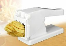 New Potato Chipper French Fries Slicer Cutter & Veg Chopper With 1 Extra Blade
