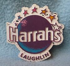 Vintage Harrahs Laughlin Nevada Rubber Magnet, Souvenir, Travel