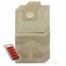 5 x Vacuum Dust Bags For Nilfisk GD910 GD1010 Hoover Bag + Fresh