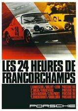 Porsche *POSTER* 911 SPA 24 Hours Francorchamps AMAZING ART PRINT