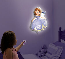 Disney's Sofia the First Talking Room Night Light - Wall Friends Uncle Milton