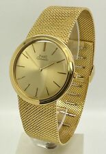 Vintage Piaget Ultra-Thin Automatic 18K Yellow Gold 90.3 Grams 1210RI Watch